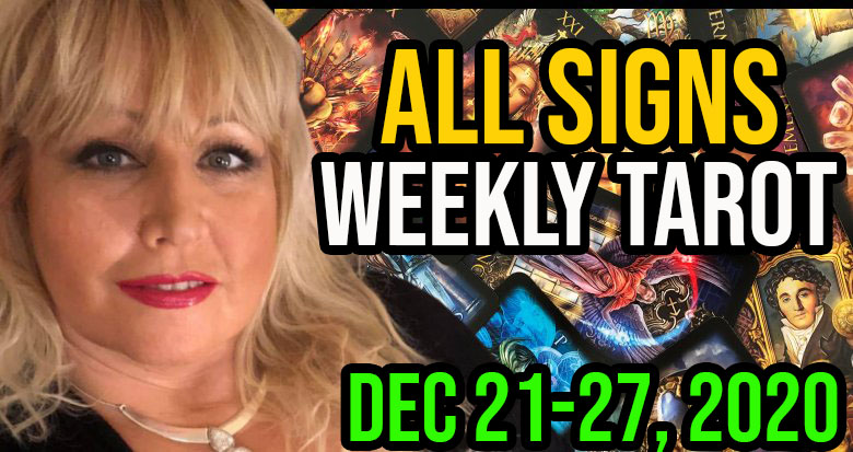 Weekly Tarot Card Reading Dec 21-28, 2020 by Alison Janes All Signs