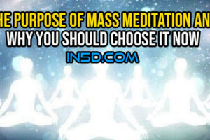 The Purpose Of Mass Meditation And Why You Should Choose It Now