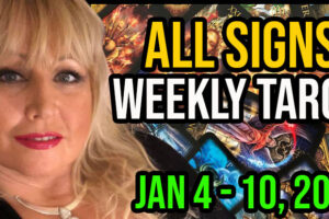Weekly Tarot Card Reading Jan 4-10, 2021 by Alison Janes All Signs