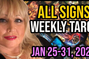 Weekly Tarot Card Reading Jan 25-31, 2021 by Alison Janes All Signs