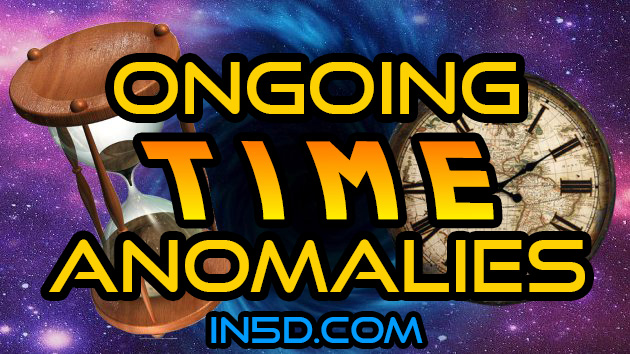 ONGOING Time Anomalies