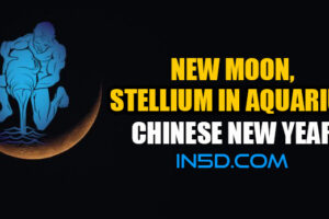 New Moon,  Stellium In Aquarius – Chinese New Year