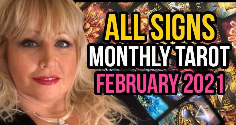 Monthly Tarot For February 2021 with Alison Janes