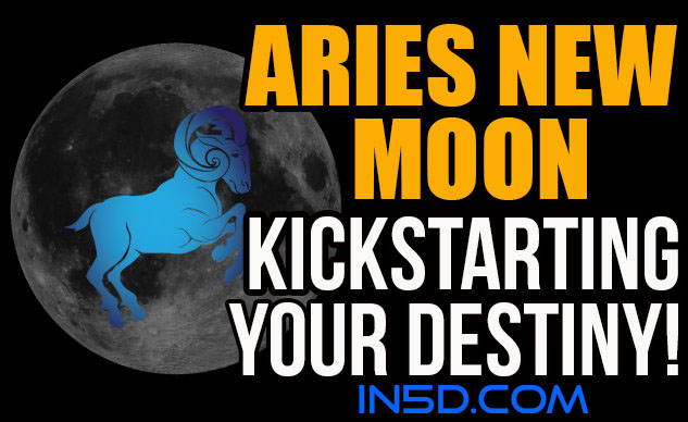 Aries New Moon - Kickstarting Your Destiny!