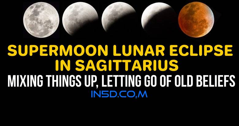 Supermoon Lunar Eclipse In Sagittarius: Mixing Things Up, Letting Go Of Old Beliefs