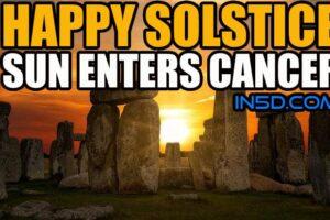 Happy Solstice – Sun Enters Cancer