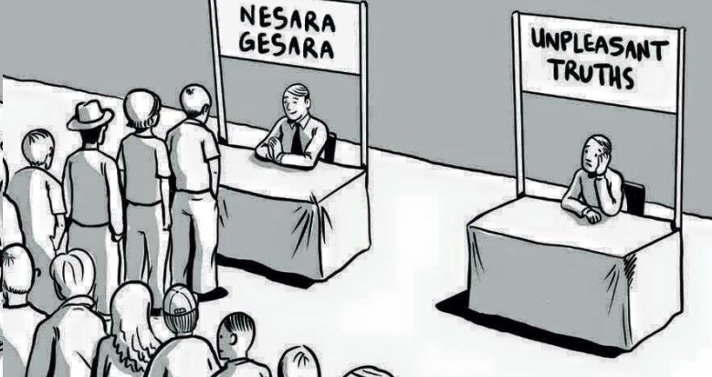 The Bitter Pills of NESARA And GESARA
