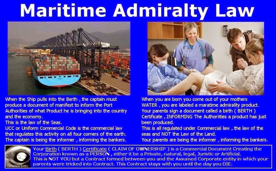 """Maritime Law: Ever Wonder Why It's Called """"Shipping"""" When You Send Something Across Land?"""