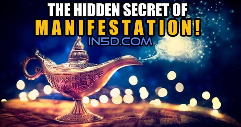 The Hidden Secret Of Manifestation!
