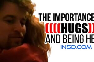 The Importance of Hugs and Being Held