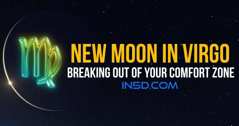 New Moon In Virgo Trines Uranus: Logic, Planning, Breaking Out Of Your Comfort Zone